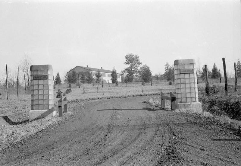 Entrance, 1941