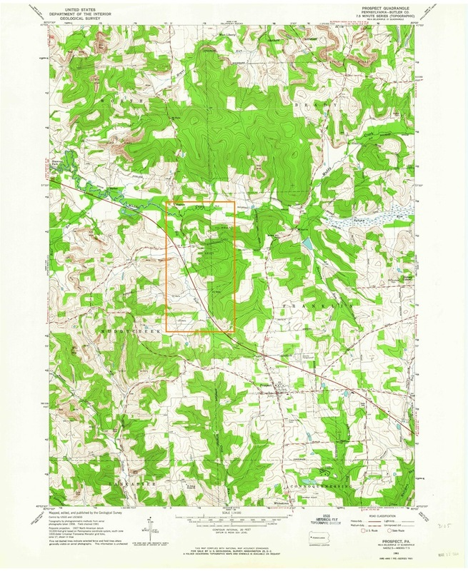 1964 Topographical Map